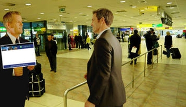 Meet Driver Inside Baggage Claim