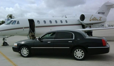Pick up & Drop off Private Jet